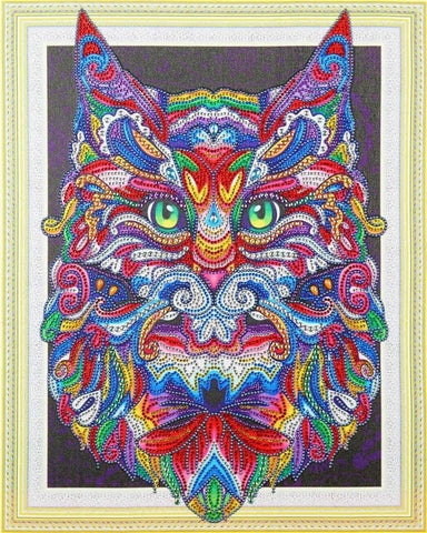 Image of Abstract Animals - Glittering 5D DIY Diamond Painting
