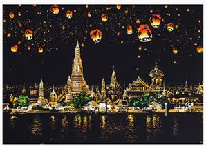 Image of Chiang Mai - DIY Scratch Painting