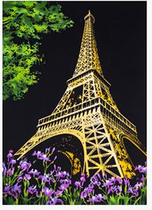 Paris - DIY Scratch Painting