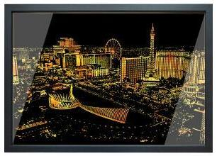 Las Vegas - DIY Scratch Painting