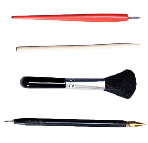 Image of DIY Scratch Painting Tools