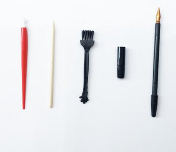 DIY Scratch Painting Tools