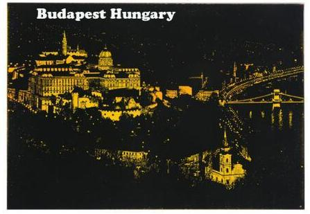 Budapest, Hungary - DIY Scratch Painting