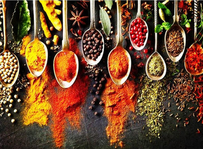 Different Spices - DIY Diamond Painting
