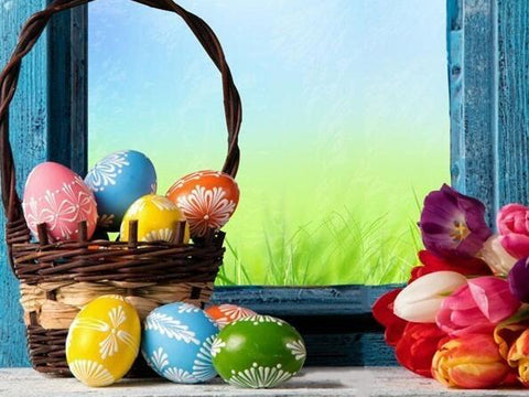 Image of Easter Eggs #3 - DIY Diamond Painting