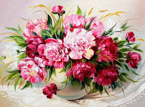 Image of Carnation Flower - DIY Diamond Painting