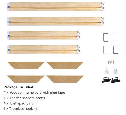 Image of Diamond painting Canvas Frame  - DIY Stretcher Strip Kit