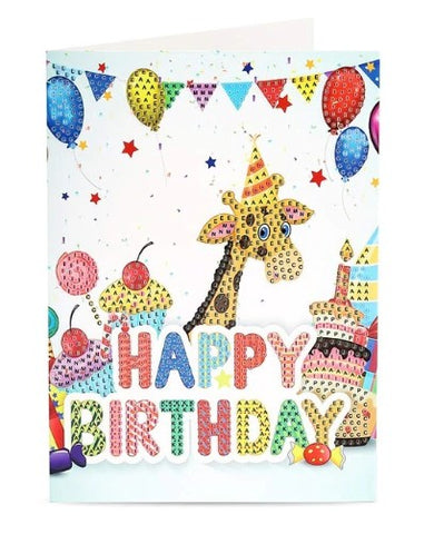 Image of Birthday Cards (Animated) - DIY Diamond Painting
