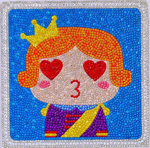 Image of Prince Charming - DIY Diamond Painting for Kids