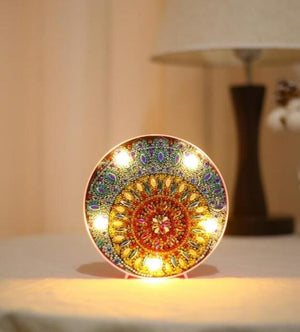 Mosaic - DIY Diamond Painting LED Lamp