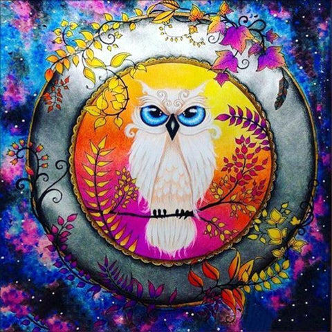 Image of Owl in Tapestry - DIY Diamond Painting