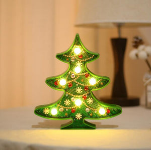 Christmas Tree - DIY Diamond Painting LED Lamp