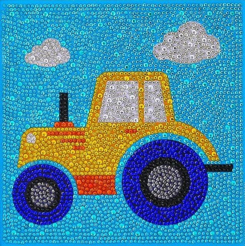 Cute Truck - DIY Diamond Painting for Kids