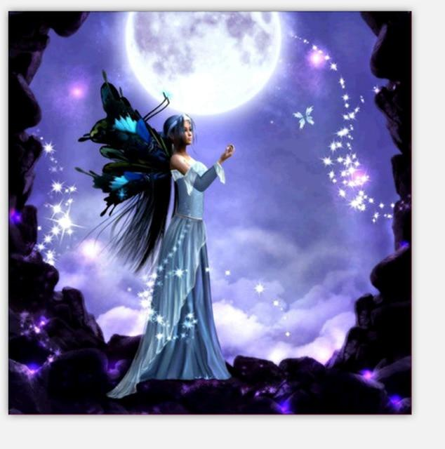 Night Fairy - DIY Diamond Painting