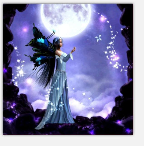 Image of Night Fairy - DIY Diamond Painting