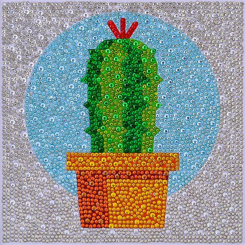 Image of Cactus - DIY Diamond Painting for Kids