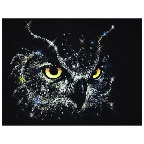 Crystallized Owl - DIY Diamond Painting