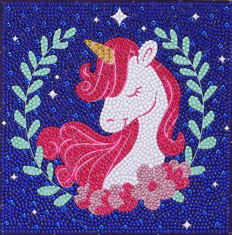 Image of Popular Unicorn - DIY Diamond Painting for Kids