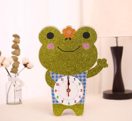 Happy Frog - DIY Table Clock Diamond Painting