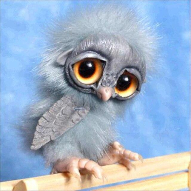 Baby Owl - DIY Diamond Painting
