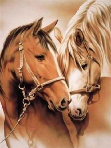 Loving Horses - DIY Diamond Painting