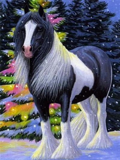 Hairy Horse - DIY Diamond Painting