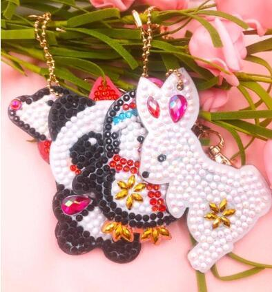 pony beaded keychain patterns