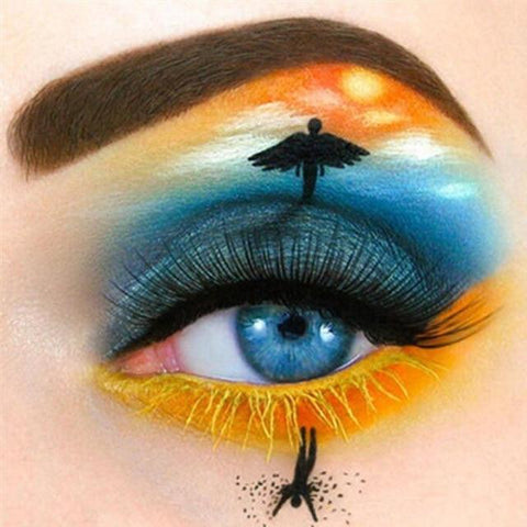 Image of Faith in the  Eye -  DIY Diamond Painting