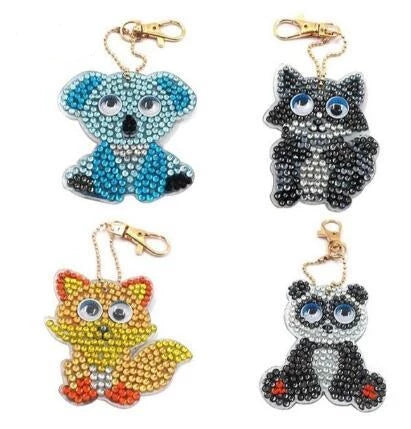 rhinestone key chains