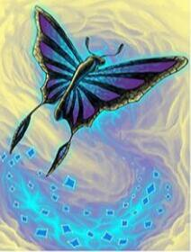 Image of Glowing Butterfly - DIY Diamond Painting