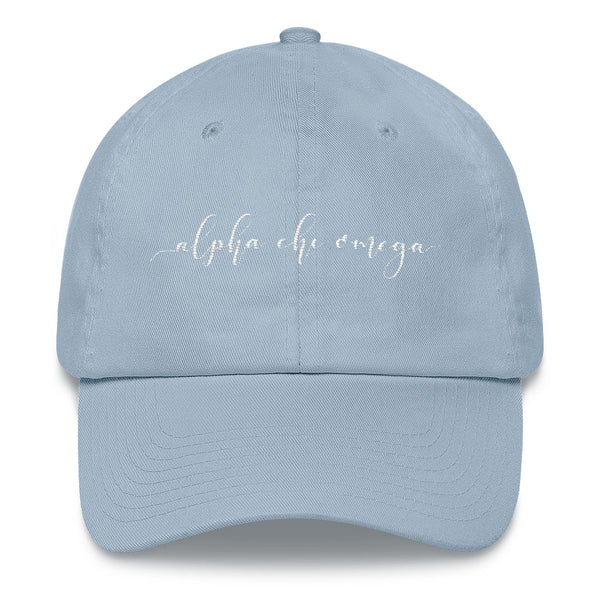 "Alpha Chi Omega ""Script"" Dad hat"