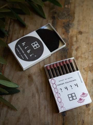 Hibi Natural Incense Matches