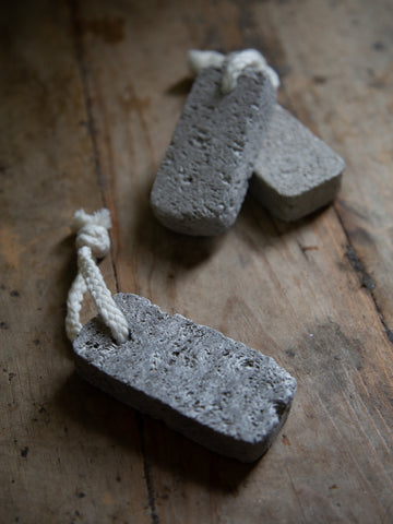 Pumice on String