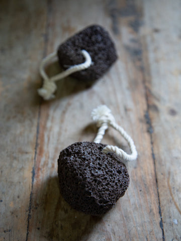 Natural Pumice Stone on String