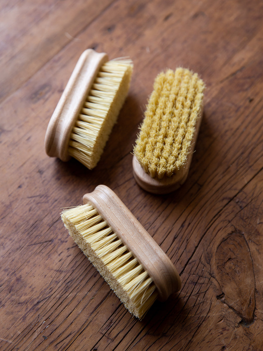 Rectangle Beechwood Nailbrush