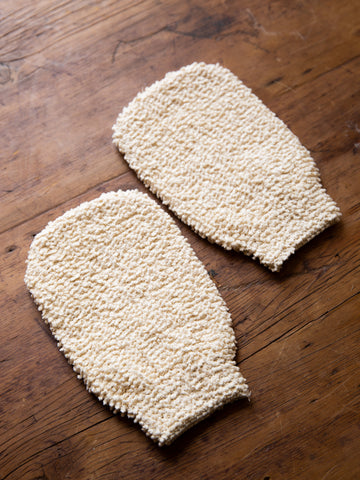 Cotton Chenille Massage Glove