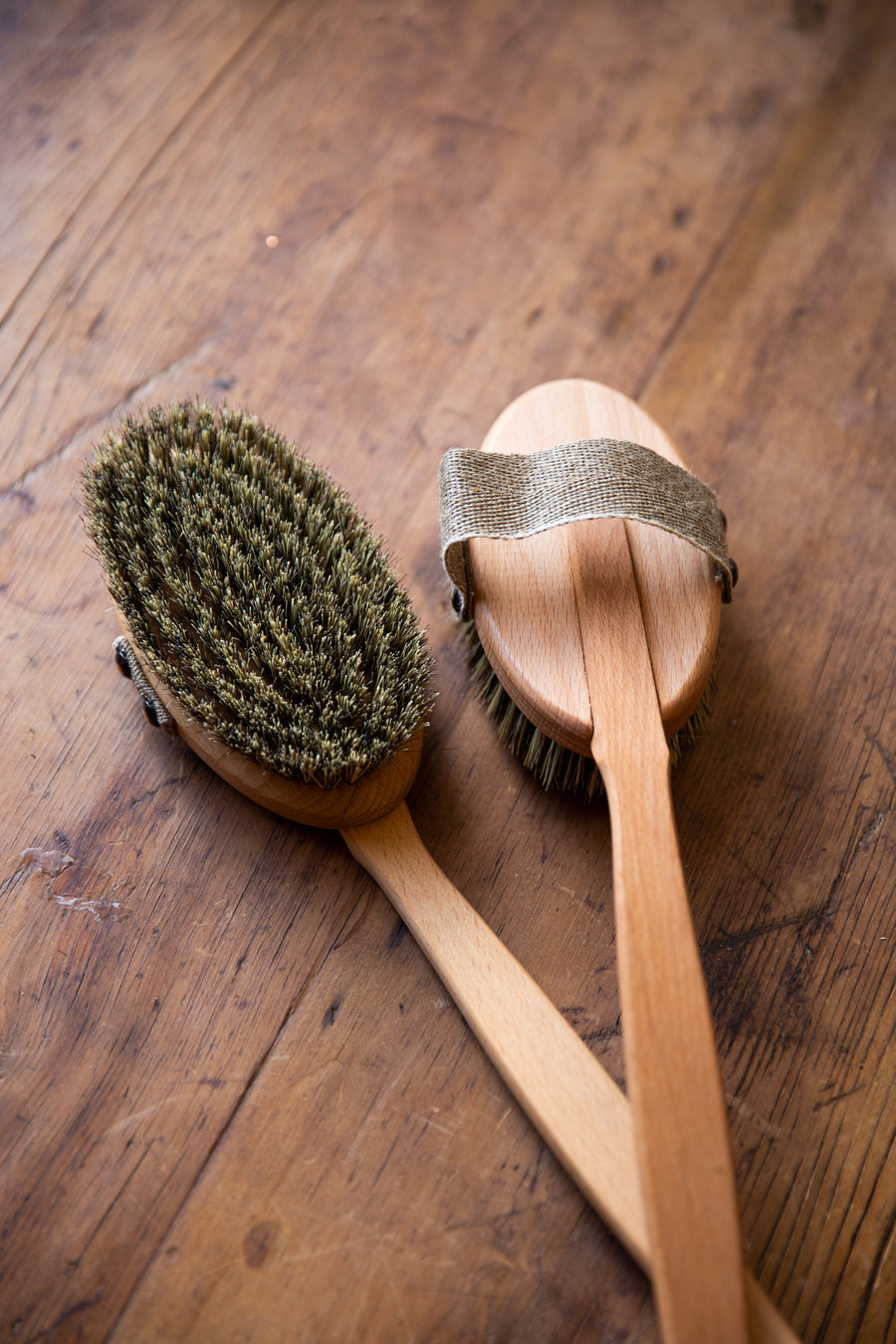 Removable Head Bath Brush