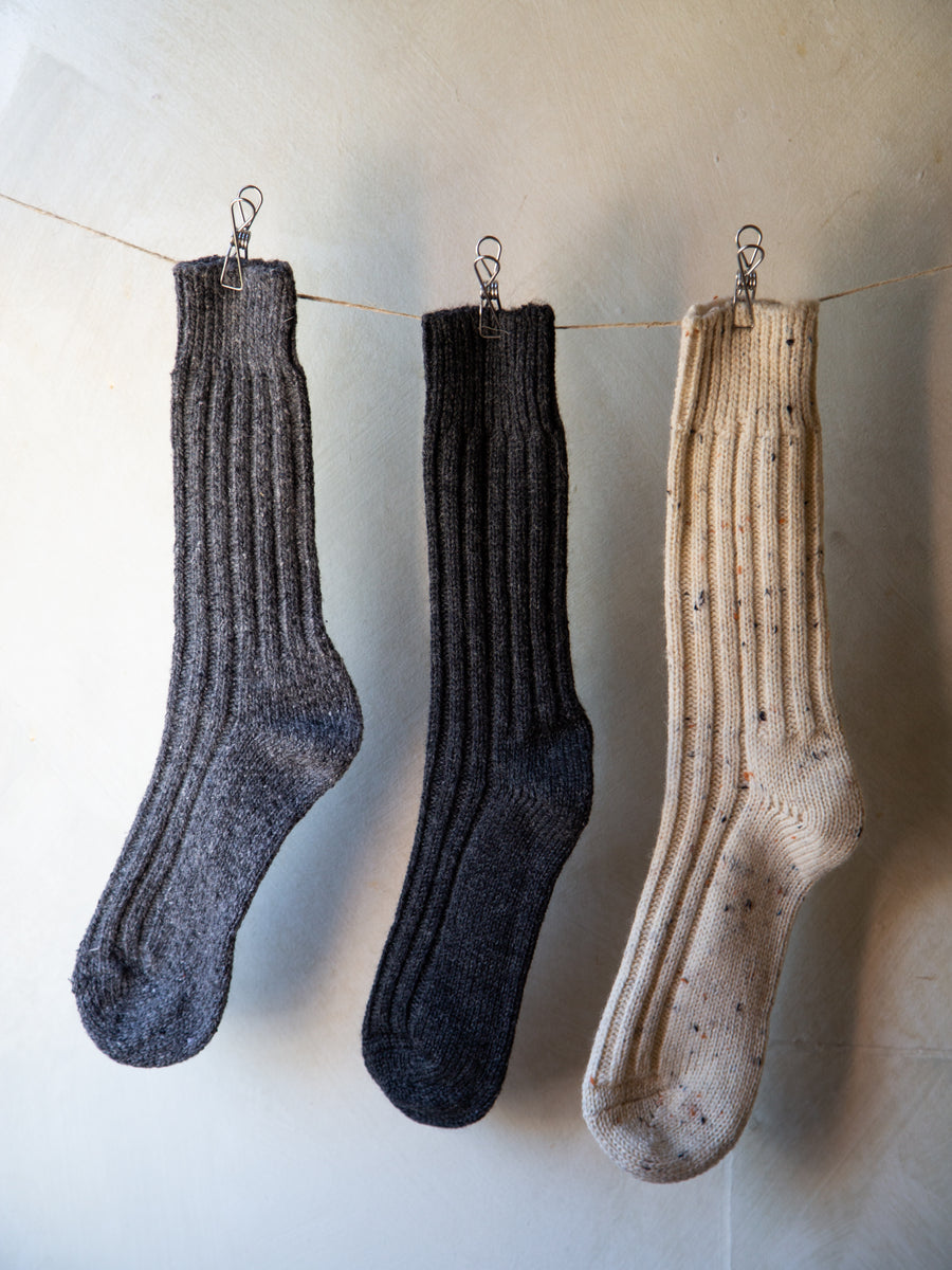 Large Irish Wool Socks