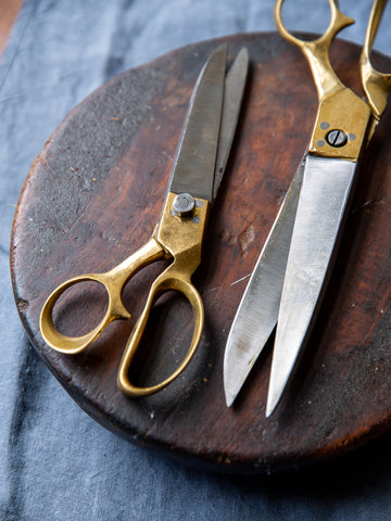 Brass Tailors Scissors