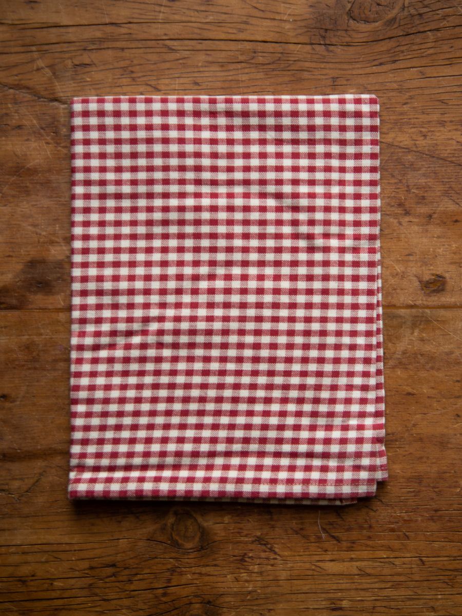 Red Gingham Tea Towel