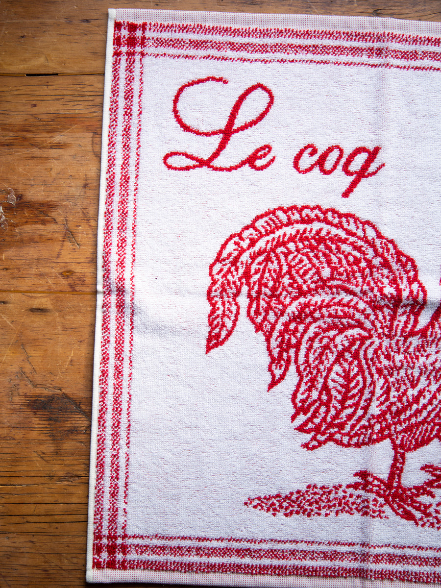 'Le Coq' French Cotton Tea Towel