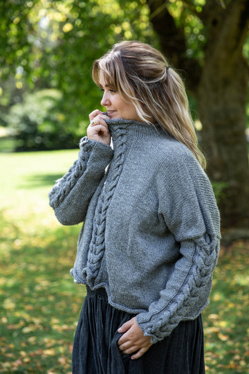 Hand Knitted Bendigo Wool Jumper