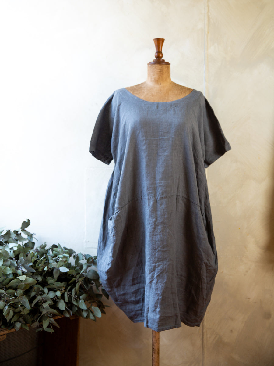 Talia Benson Linen Bell Dress/Top