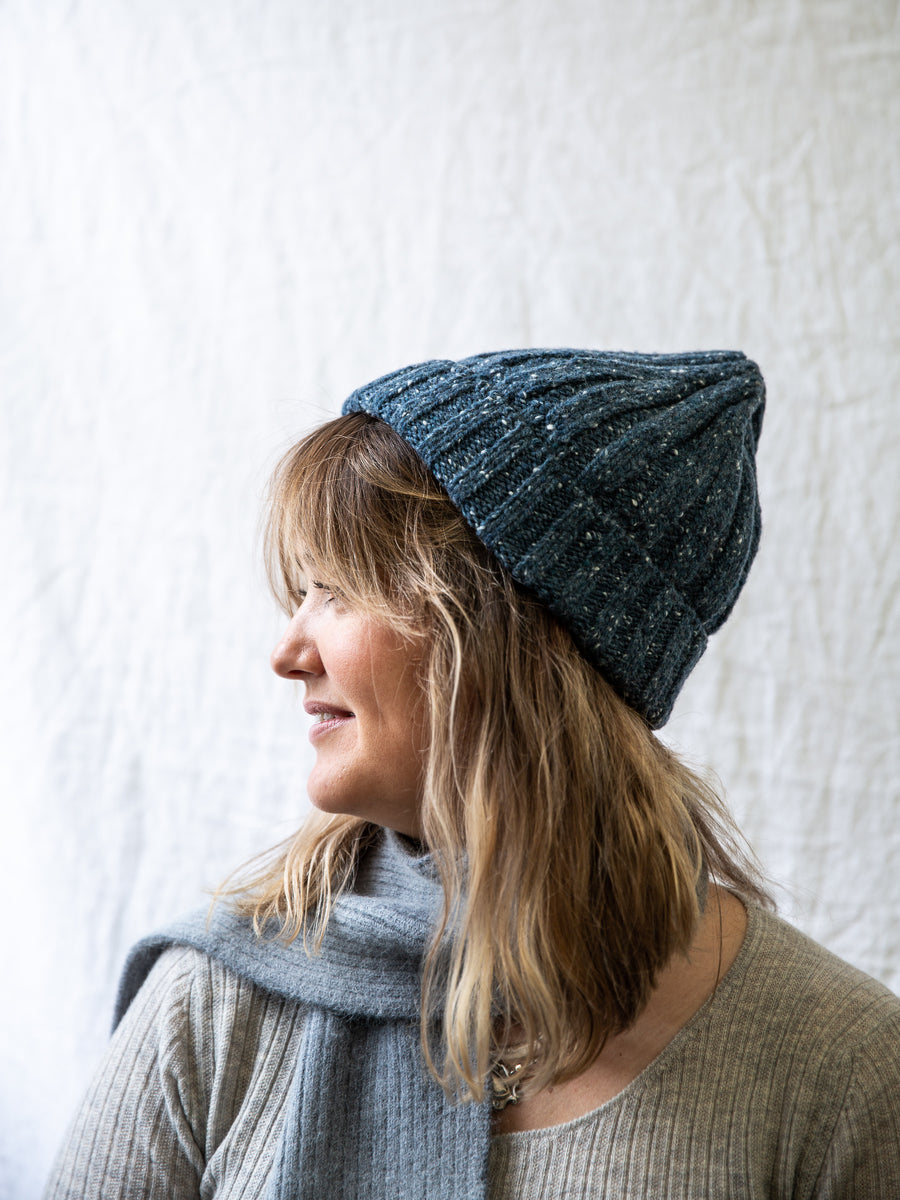 Irish Wool Cable Beanie