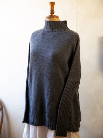 Merino Wool Turtle Jumper Dress
