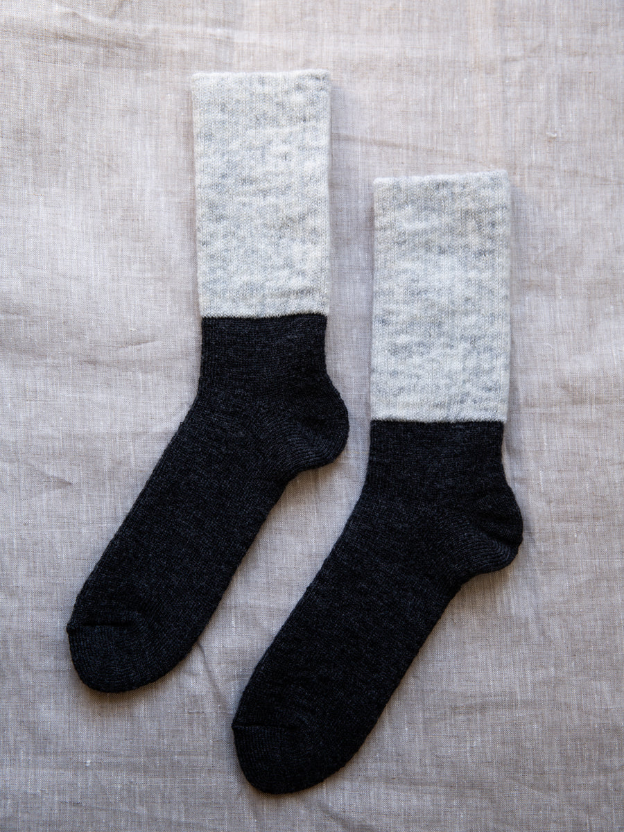 Japanese Mohair Wool Pile Socks