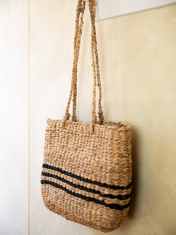 Seagrass Market Basket- Medium