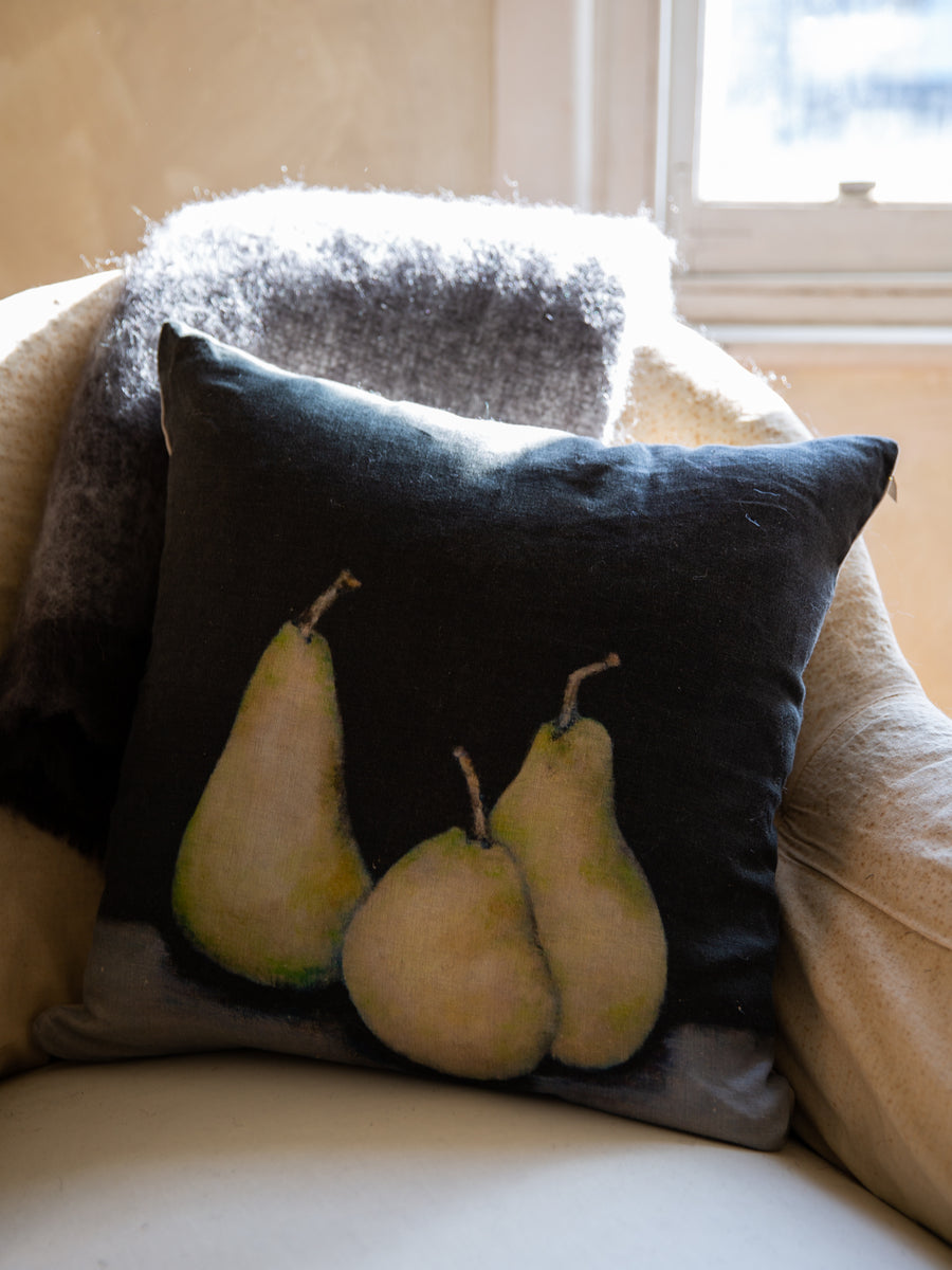 Linen Pears Cushion