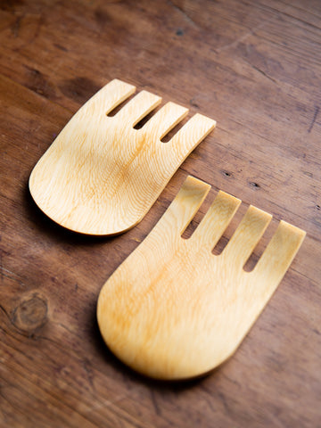 Tasmanian Huon Pine Server Hands