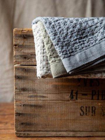 Japanese Linen & Cotton Waffle Cloth
